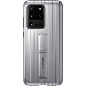 Husa Protective Standing pentru SAMSUNG Galaxy S20 Ultra, EF-RG988CSEGEU, argintiu AHSRG988CSEGEU