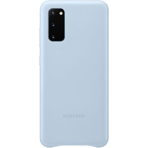 Carcasa pentru SAMSUNG Galaxy S20, EF-VG980LLEGEU, piele naturala, albastru AHSVG980LLEGEU