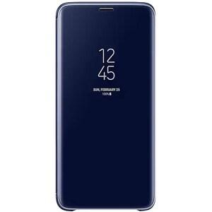 Husa Clear View Standing pentru SAMSUNG Galaxy S9 Plus, EF-ZG965CLEGWW, Blue AHSZG965CLEG