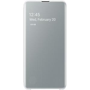 Husa Clear View pentru SAMSUNG Galaxy S10e EF-ZG970CWEGWW, white AHSZG970CWEG
