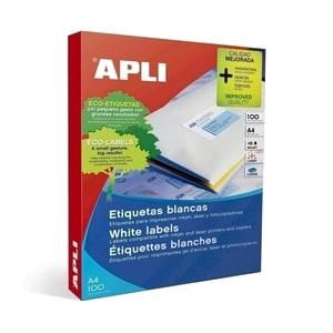 Etichete autoadezive APLI, A4, 210 x 297 mm, 100 bucati, 100 coli/top PBHAL11817