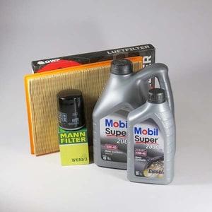 Pachet schimb ulei MOBIL Super 2000 10W40, Opel Astra F 1.7 TDS, 82CP, 10.1995-1999 AUTPSU912