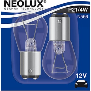 Set 2 becuri Halogen NEOLUX N566-02B, P21/4W, 21W/4W, 12V AUTN56602B