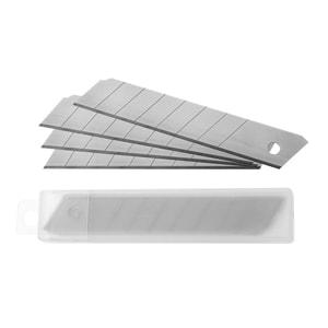 Rezerve cutter A-SERIES, 18 mm, metal, 10 bucati, argintiu PBBAY84008