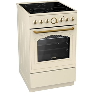 Aragaz GORENJE EC52CLI, 4 arzatoare, electric, beige ARGEC52CLI