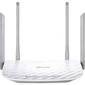 Router Wireless TP-LINK Archer A5 AC1200, Dual-band 300 + 867 Mbps, alb ROUARCHERA5