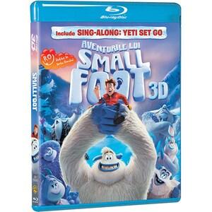 Aventurile lui Smallfoot Blu-ray 3D BD-3DSMALLFOOT