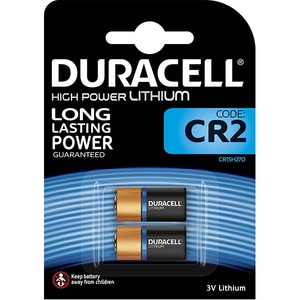Baterii Litiu DURACELL CR2, Long Lasting Power, 3V, 2 bucati BAT3VCR2B2
