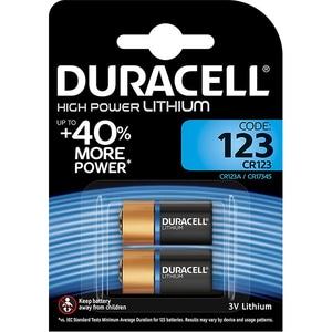 Baterii Litiu DURACELL CR123, 3V, 2 bucati BAT3VULTRA123B2