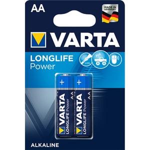 Baterii alcaline AA VARTA Longlife Power, 2 bucati BATHIGHENERR6B2