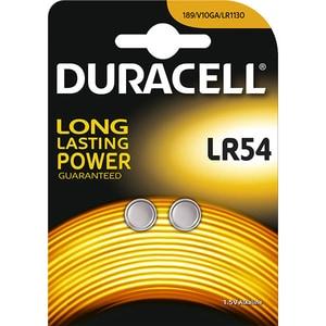 Baterii Alcaline DURACELL LR54, Long Lasting Power, 1.5V, 2 bucati BATLR54B2