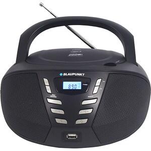 Radio CD portabil BLAUPUNKT Boombox BB7BK, FM, USB, negru RCDBB7BK