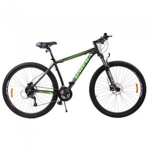 "Bicicleta Mountain Bike OMEGA Bettridge, 29"", negru-verde 2019 BCLBETTRIDGE29V"