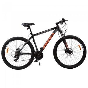 "Bicicleta Mountain Bike OMEGA Duke, 29"", negru-rosu-albastru BCLDUKE29NP"