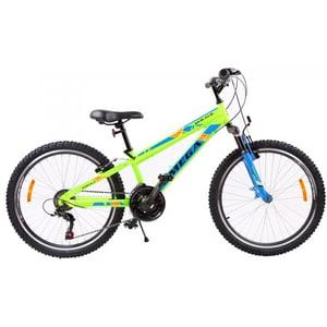 "Bicicleta de copii Mountain Bike OMEGA Gerald, 24"", verde BCLGERALD24V"
