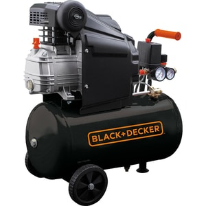 Compresor BLACK & DECKER BD 205/24, Electric, cu ulei, 24 litri, 2CP, 8 Bar SCLBD20524