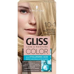 Vopsea de par SCHWARZKOPF Gliss Color, 10-1 Blond Perlat Ultra Deschis, 143ml BLSHBGL0096