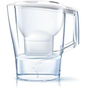 Cana filtranta BRITA Aluna BR1026412 + 3 filtre Maxtra+, 2.4l, alb-transparent CANBR1026412