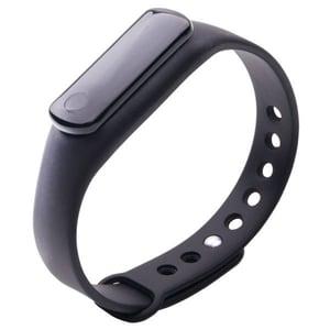 Bratara fitness E-BODA Smart Fitness 120, Android/iOS, negru BRTEBOSMART120