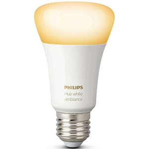 Bec LED PHILIPS Hue A60 9.5W (60W), E27, Lumina variabila BSWHUE9WE27LR