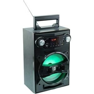 Boxa portabila SAL BT 1650, Bluetooth, SD, USB, Radio FM, negru DOCBT1650