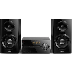 Microsistem audio PHILIPS BTB2570/12, 70W, Bluetooth, CD, USB, negru MICBTB257012
