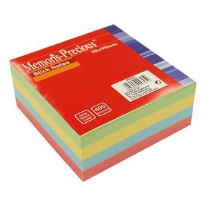 Notite adezive MEMORIS Precios, 400 file, 90 x 90mm, diverse culori PBHBV031213