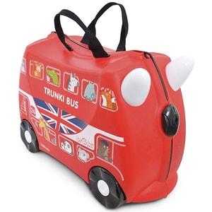 Troler copii TRUNKI Boris London Bus, 46 cm, rosu VTR0186GB01