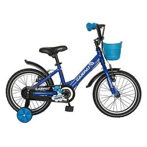 """Bicicleta pentru copii CARPAT C1601C, 16"""", albastru-negru BCLC1601CBLUEBK"""