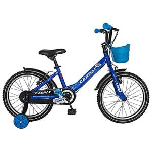 """Bicicleta pentru copii CARPAT C1801C, 18"""", albastru-negru BCLC1801CBLUEBK"""