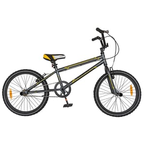 """Bicicleta model bmx CARPAT Rocker C2018A, 20"""", gri-galben BCLC2018AGREYYE"""