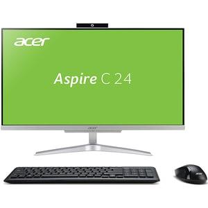 "Sistem PC All in One ACER Aspire C24-865, Intel Core i3-8130U pana la 3.4GHz, 23.8"" Full HD, 4GB, 1TB, Intel UHD Graphics 620, Linux AIODQBBTEX002"