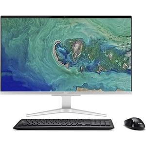 "Sistem PC All in One ACER Aspire C27-865, 27"" Full HD, Intel Core i5-8250U pana la 3.4GHz, 8GB, SSD 256GB, NVIDIA GeForce MX130 2GB, Endless, argintiu AIODQBCNEX003"
