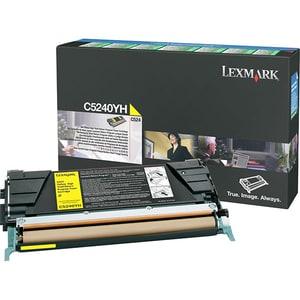 Toner LEXMARK XL C5240YH CTG C524 Return Program, galben CSMC5240YH