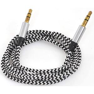 Cablu audio MYRIA MY9037BK, Jack 3.5mm, 1m, negru CABMY9037BK