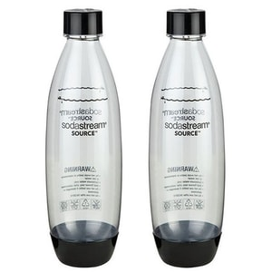 Set 2 sticle plastic SODASTREAM Play&Source, 1l, transparent CAN1041244310