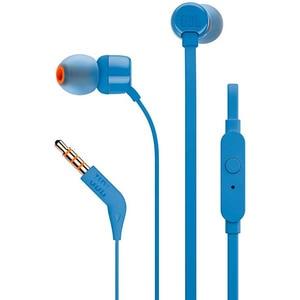 Casti JBL TUNE 110, Cu Fir, In-Ear, Microfon, albastru CASJBLT110BLU