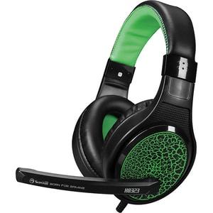 Casti Gaming MARVO H8323, stereo, 3.5mm, negru-verde CASMRVH8323GR