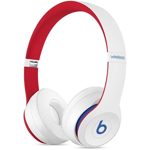 Casti BEATS Solo3 Club Collection, Bluetooth, On-Ear, Microfon, alb-rosu CASSOLO3CLUBWH
