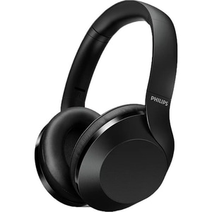 Casti PHILIPS Performance TAPH802BK/00, Bluetooth, On-Ear, Microfon, Hi-Res Audio, negru CASTAPH802BK
