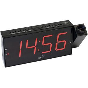 Ceas cu alarma HOME LTCP 01, Afisaj rosu, negru CESLTCP01