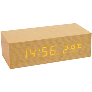 Ceas cu alarma HOME OC 02, Afisaj galben, crem CESOC02