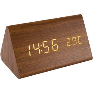 Ceas cu alarma HOME OC 05, Afisaj galben, maro CESOC05