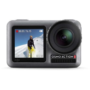 Camera video sport DJI Osmo Action, 4K, Wi-Fi, negru CMVOSMOACTION4K