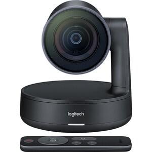 Camera Web LOGITECH Rally Camera, 4K UHD 3840 x 2160p, negru CMW960001227