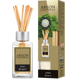 Odorizant cu betisoare AREON Home Perfume Gold, 85ml CONAREONGLD85