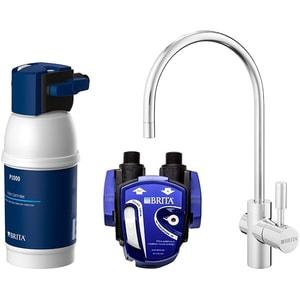 Sistem de filtrare apa potabila BRITA My Pure P1 BR1025434: baterie bucatarie + suport + filtru carbon CONBR1025434