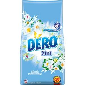 Detergent automat 2in1 DERO Iris alb , 10kg, 100 spalari CONDEROIRIS10KG