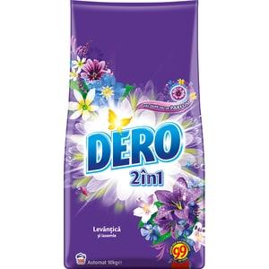 Detergent automat 2in1 DERO Lavanda, 10kg, 100 spalari CONDEROLAVA10KG