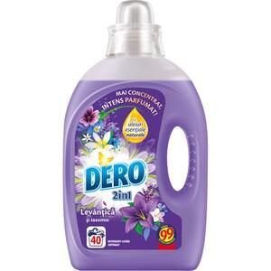 Detergent lichid DERO Lavanda, 2l, 40 spalari CONDLDLA2040